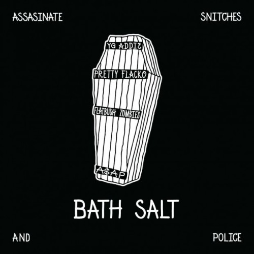 "A$AP ""Bath Salts"" Cover Art"