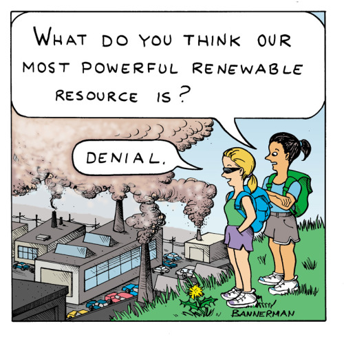 'What do you think our most powerful renewable resource is?'  This is one of 12 editorial cartoons being considered by the Union of Concerned Scientists in their annual calendar contest. You can check them out and vote on your favorite here. Related: Naomi Oreskes: 'The verdict is in on climate change' (Los Angeles Times) 'Fear of climate change may finally be trumping ideological denial' (Huffington Post)