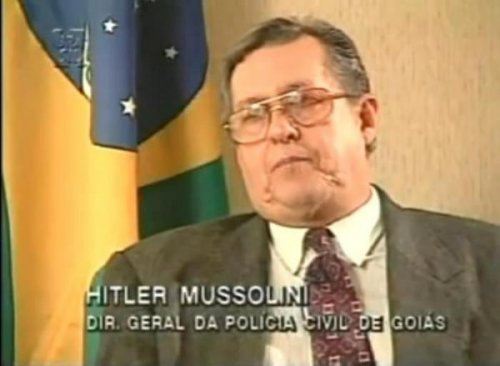Man Named Hitler Mussolini How do you have a name like that and not get beaten up every day.