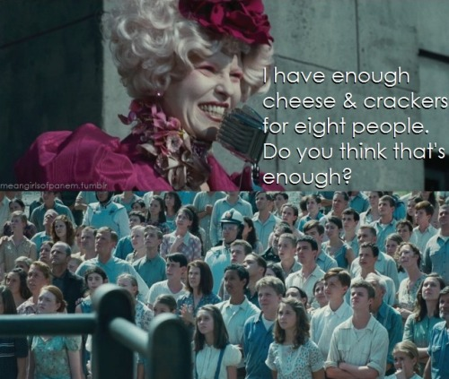 District 12 doesn't appreciate Effie's sense of humor.