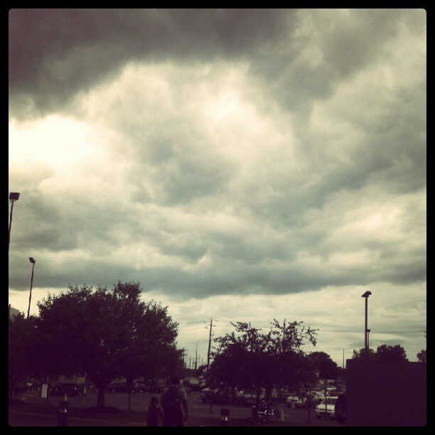 Finally, an overcast day. (Taken with Instagram at Ivy Tech Community College)