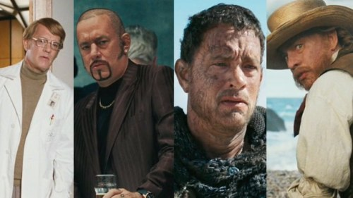 imwithkanye:  Every Single Preposterous Tom Hanks Face from the Cloud Atlas Trailer | io9 (h/t DanHacker)  Second from the left is going to bring him so much street cred with Chet.