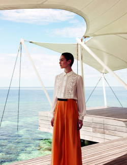 L'Officiel Singapore July 2012 Model: Caitlin Lomax Photographer: Wee Khim