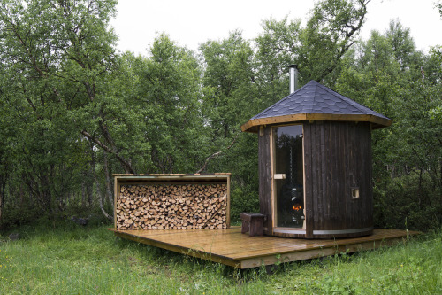 cabinporn:  Sauna in Røros, Norway. Submitted by Vegar Moen.