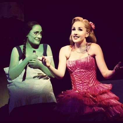 I really need to hear this amazing woman as Glinda…. I was already in love and now shes in my favorite show… If someone can produce a full show audio or video of her I will give them anything… not limited to my mind, soul, or body. lol ;)