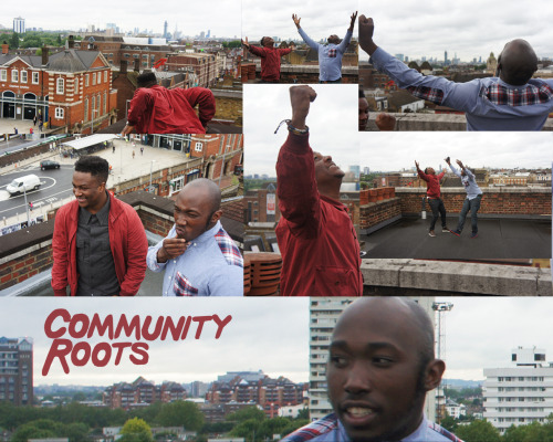 Community Roots - Roof Top Rocking As Usual!!! #BlackmaleBeatsTillTheeEnd
