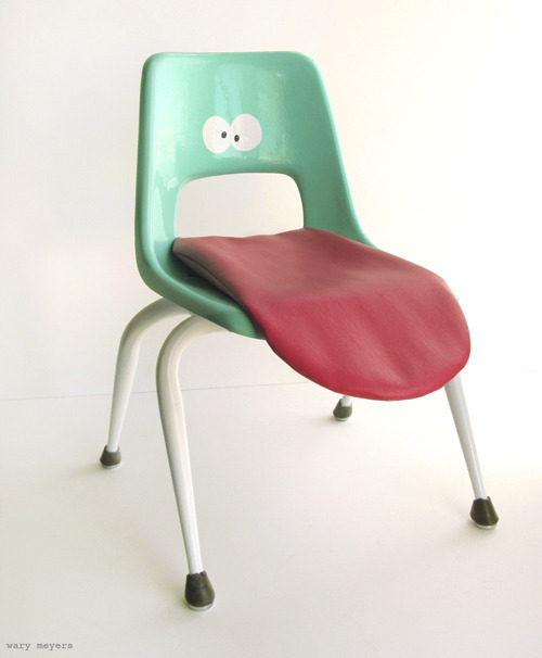 Tongue Chair by Wary Meyers