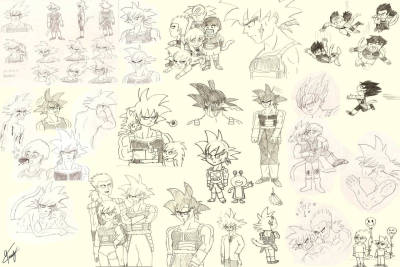 Bardock Sketches