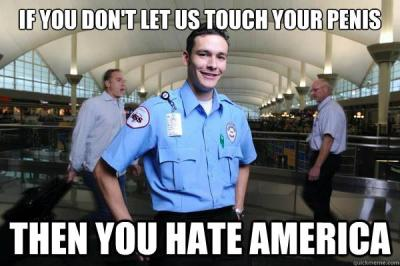 This TSA Meme really sums up the flying experience for males all across the country.  Follow this blog for endless hours of laughter