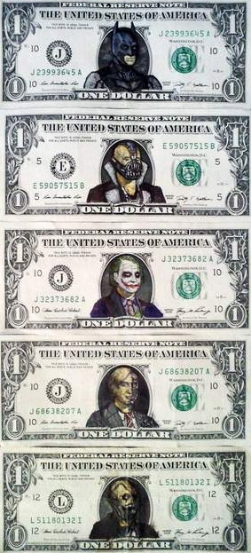 The Dark Knight Rises Trilogy Money