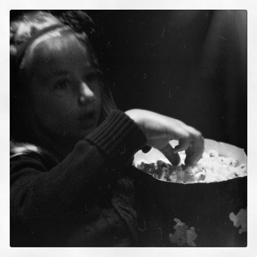 Brave #monochrome #blackandwhite #children  (Taken with Instagram)