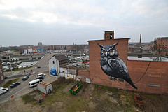 Hasselt (Belgium)-The Malt Tower via: ROA http://bit.ly/oJzj6d