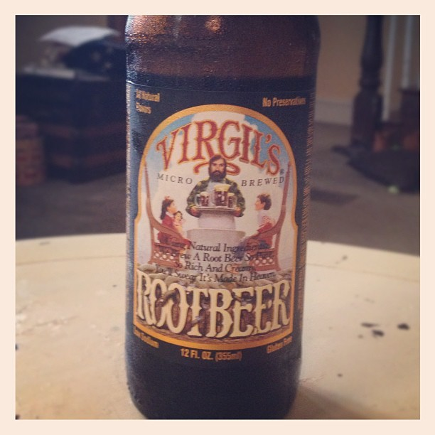 Liquid gold. #virgils #rootbeer   (Taken with Instagram)