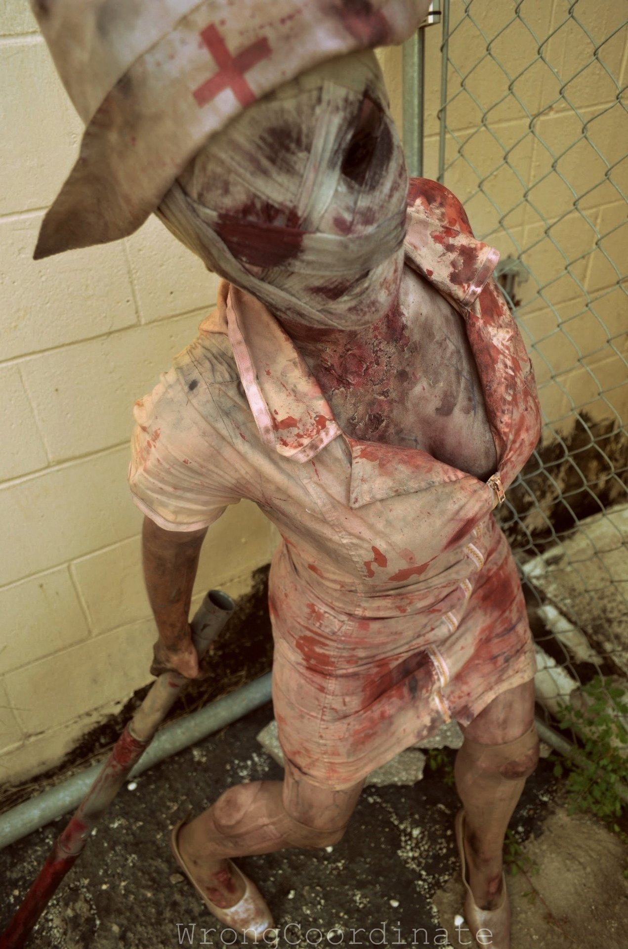 docaine:  wrongcoordinate:  Silent Hill Nurse - Allie  Can't wait to see the second movie.