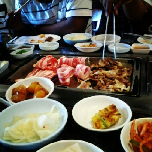 Korean BBQ! (Taken with Instagram)