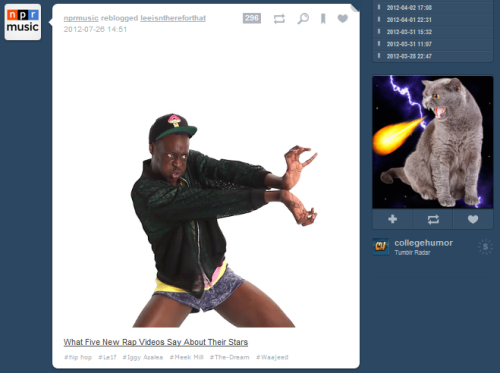 deejul:  Tumblr is ruining my life  Hadouken! —Lars