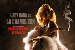 Lady Gaga as La Chameleon (Machete Kills - Movie)