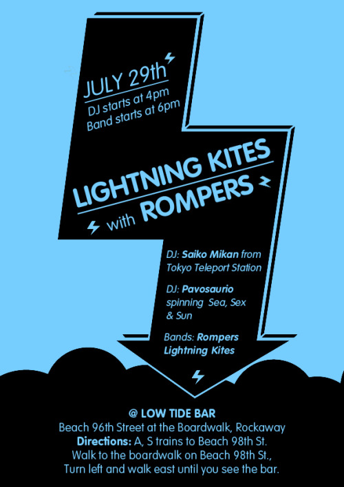Rompers rock the Rockaways! This Sunday! Beach, surf and best times!
