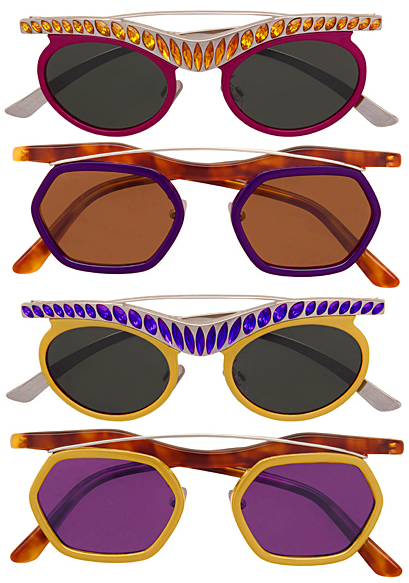 monsieur-j:  Prada Fall 2012 Sunglasses