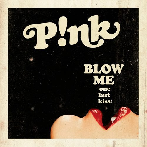 "The official music video for ""Blow Me (One Last Kiss)"" premieres tonight at 7:50pm ET on VEVO and MTV.  Make sure you tune in to be the first to see it!"