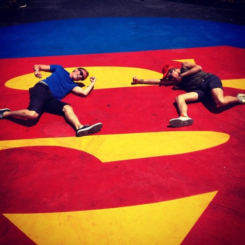 #boys #superman #sixflags #california @ohthisisnew  (Taken with Instagram)