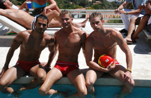 bros know, you can spend all sorts of quality time near the pool, whether relaxing or playing …     topher ;)  BestOfBromance.tumblr.com - @BestOfBromance - BestOfBromance@gmail.com