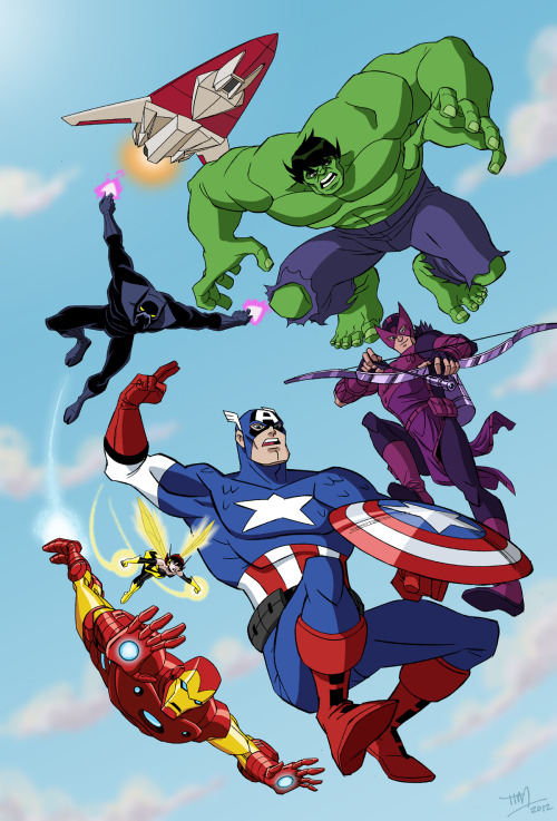 """The Avengers: Earth's Mightiest Heroes"" By Tim Levins"