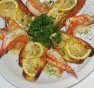 Shrimp Scampi Appetizer