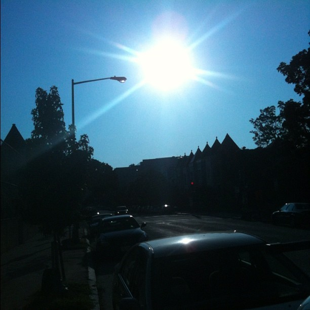 That sun is HOT! (Taken with Instagram)