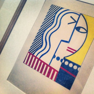 Picasso? Nope, try Roy Lichtenstein #art #artinstituteofchocago #chicago #chicagood #instagram312  (Taken with Instagram at The Art Institute of Chicago)