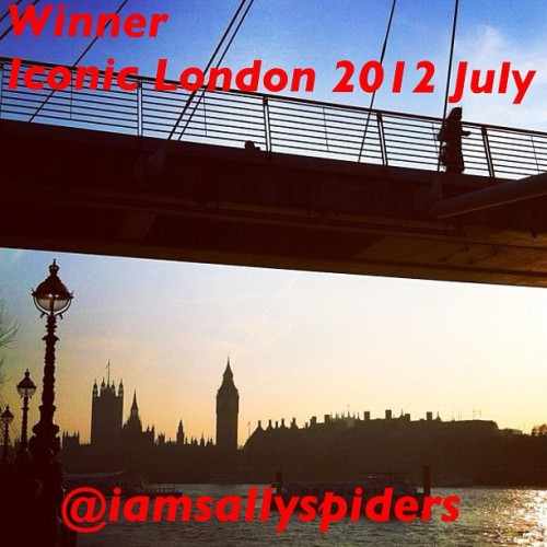 The winner of this months Iconic London Contest is @iamsallyspiders! We love her sunset image of Big Ben and Westminster! Thank you to everyone who entered! (Taken with Instagram)