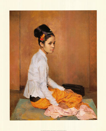 Burmese Pearl by G. Kelly.