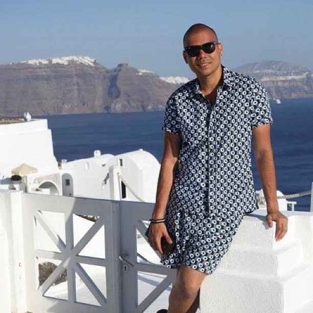 I miss it. #santorini #blue #white #oia #greece #travel #fashion #marni #vacation #instagood #instagroove #bestoftheday  (Taken with Instagram)