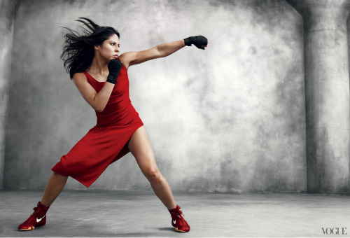 fuckyeahfemmes:  Marlen Esparza  It's the first year that women's boxing is an Olympic sport and Marlen Esparza is the first American woman to qualify for the team. She will be competing in the Women's Fly competition.