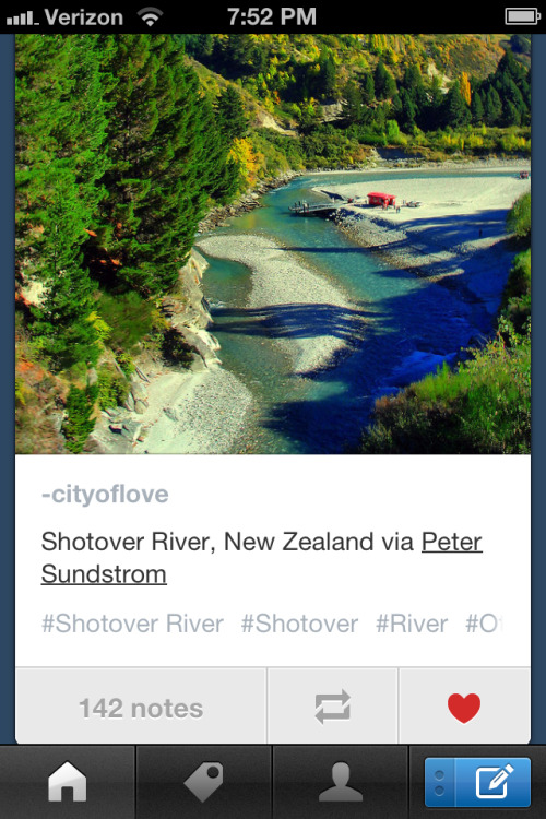 The new Tumblr 3.0 mobile app is pretty fan-tastic :) Hi-res photos, easier functionality, quicker load time, and some rad NEW features. Well done, Staff :)