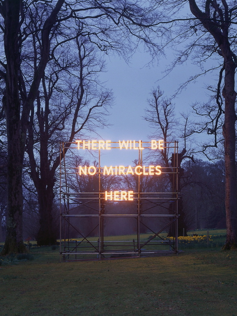 crowcrow / There Will Be No Miracles Here (2006), Nathan Coley