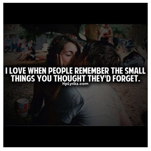 It's always the little things that matter most #truth #realtalk #love #relationship #true #swagnotes  (Taken with Instagram)
