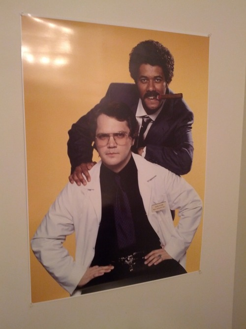 codysherman:  Custom ordered this poster for our bathroom, just in case anyone opens up the gateway to hell.  I want this poster. How do I get this poster?