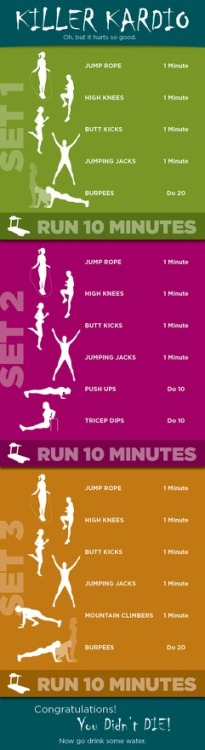 Killer Cardio, i have to try this out