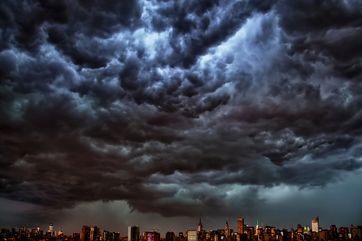 This beauty is apparently sweeping over New York tonight.
