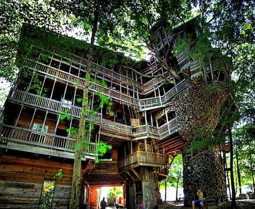 Tree House / Crosville, Tennessee : The Largest in The World