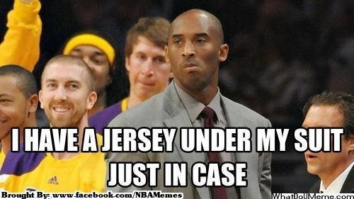 thenbamemes:  Kobe: The Superhero