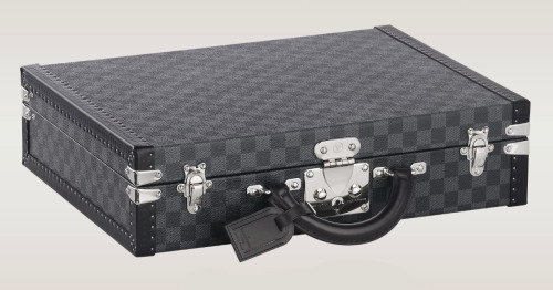 Louis Vuitton Président BriefcaseLet's bring the 50s back ;]