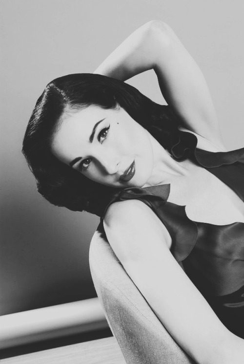 petitnoire:  Celebrities in B&W: Dita Von TeeseBy Dean Chalkley