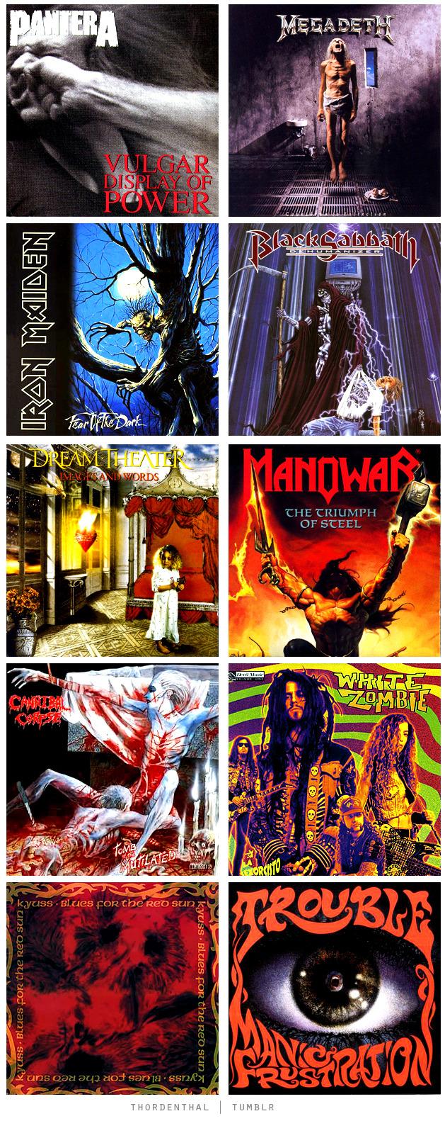 Best Heavy Metal Albums Of1992