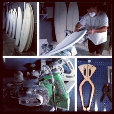 #Ron Meeks #shaping#custom#hand shaped#Dave Wassel#surfboards (Taken with Instagram)