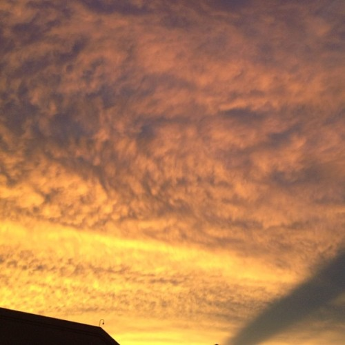 Vanilla sky . #sunset #nofilter #sky (Taken with Instagram at Saint Louis Galleria)