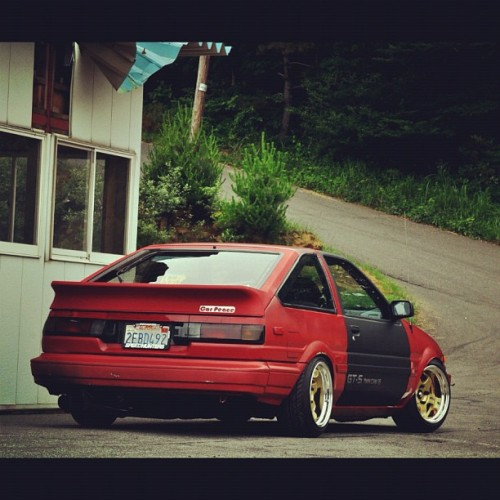 whatmonstersdo:  #Toyota #AE86 Love! #whatmonstersdo #wmd #wecametowin  (Taken with Instagram)