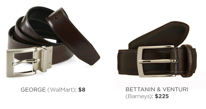 Let's talk leather belts, and the different qualities among them. More on EG.