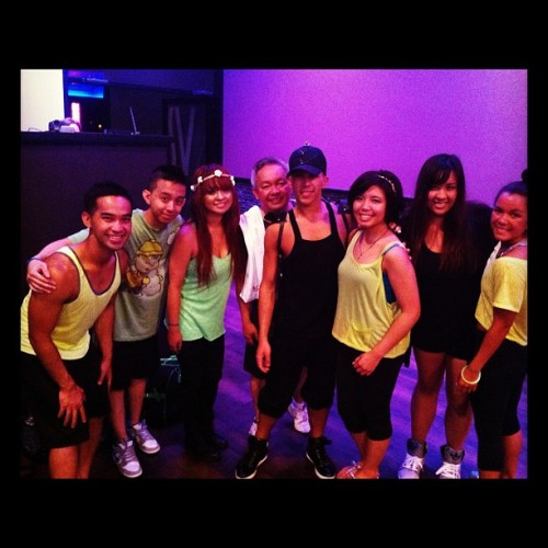 My asian zumba buddies!! (Taken with Instagram)